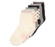 6 PACK Socken neutral multi