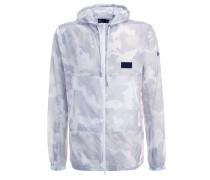 COURTSIDE Windbreaker white/glacier gray