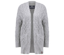 ARAN - Strickjacke - grey marl