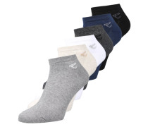 6 PACK - Socken - midnight blue/black/white/anthracite