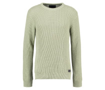 REED - Strickpullover - silver green