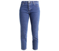 CROPPED STRAIGHT - Jeans Slim Fit - stone n glory