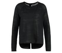 BASE Strickpullover black