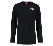Langarmshirt - black/white