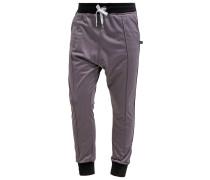 DROP Jogginghose cement/black