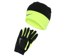 SET Mütze black/volt