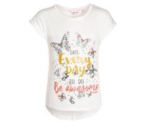 HELLO SUMMER - T-Shirt print - snow white/white