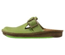 Pantolette flach green