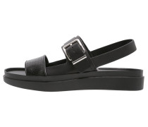 GINNY Plateausandalette black