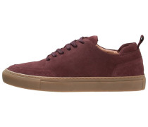 Sneaker low bordeaux