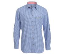 DENVER SLIMFIT Hemd blau