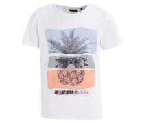 T-Shirt print - blanc optique