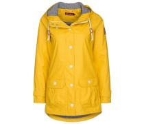 PENINSULA FISCHER Regenjacke / wasserabweisende Jacke yellow