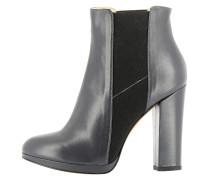 High Heel Stiefelette dark grey