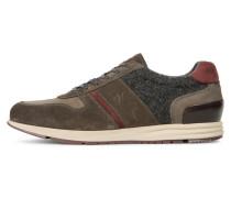 Sneaker low dark grey/bordo