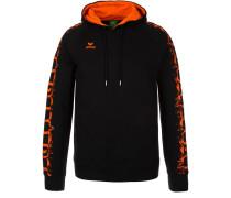 GRAFFIC 5-C HOODIE - Sweatshirt - schwarz/orange