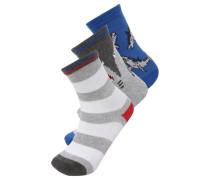 3 PACK Socken shark
