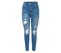 STUDIO - Jeans Slim Fit - medium blue denim