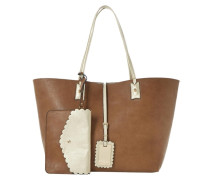 DALLOP Shopping Bag brown