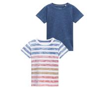 2 PACK TShirt print blue