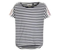 T-Shirt print - blanc cass