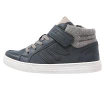 PUNCH HOLE Sneaker high navy blue/light grey