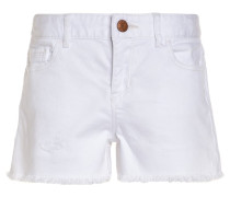 RAW - Jeans Shorts - white denim