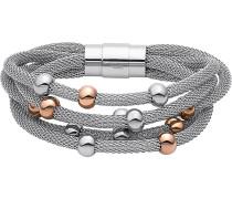 Armband - grau/silberfarben/roségoldfarben