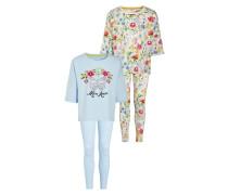 2 PACK - Pyjama - blue