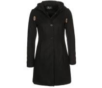 BOULEVARD Wollmantel / klassischer Mantel schwarz