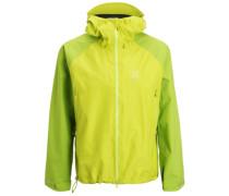 ROC SPIRIT Hardshelljacke glow green/lime green