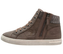 Sneaker high taupe