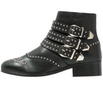 Cowboy-/ Bikerstiefelette - black