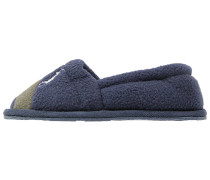 RUGBY Hausschuh navy/green