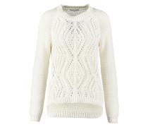 Strickpullover bright white