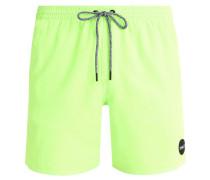 POPUP Badeshorts fluor green