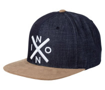 EXCHANGE - Cap - black denim
