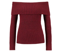 MARILYN Strickpullover bordeaux