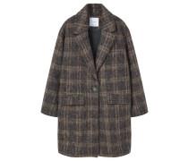 Wollmantel / klassischer Mantel mink grey