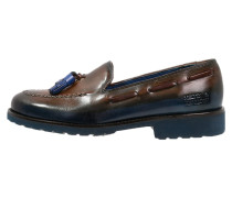 KELLY 7 Slipper tan/blue