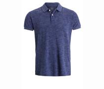 Poloshirt navy space dye