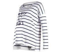 Langarmshirt offwhite/dark blue