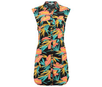 TROPIC CAMP Blusenkleid black