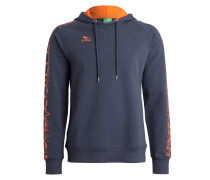 Sweatshirt - new navy/orange fire