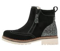 Snowboot / Winterstiefel black/platinum glamour