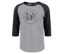 TEMPUS - Langarmshirt - heather grey/washed black