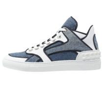 Sneaker high blu/bianco