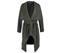 Wollmantel / klassischer Mantel green