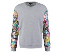 Sweatshirt mottled grey/multicolour