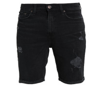 Jeans Shorts - destroyed black